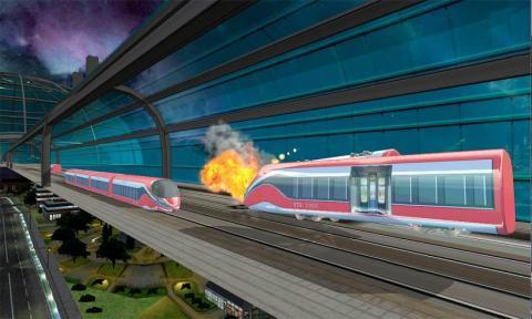 子弹火车模拟器2016